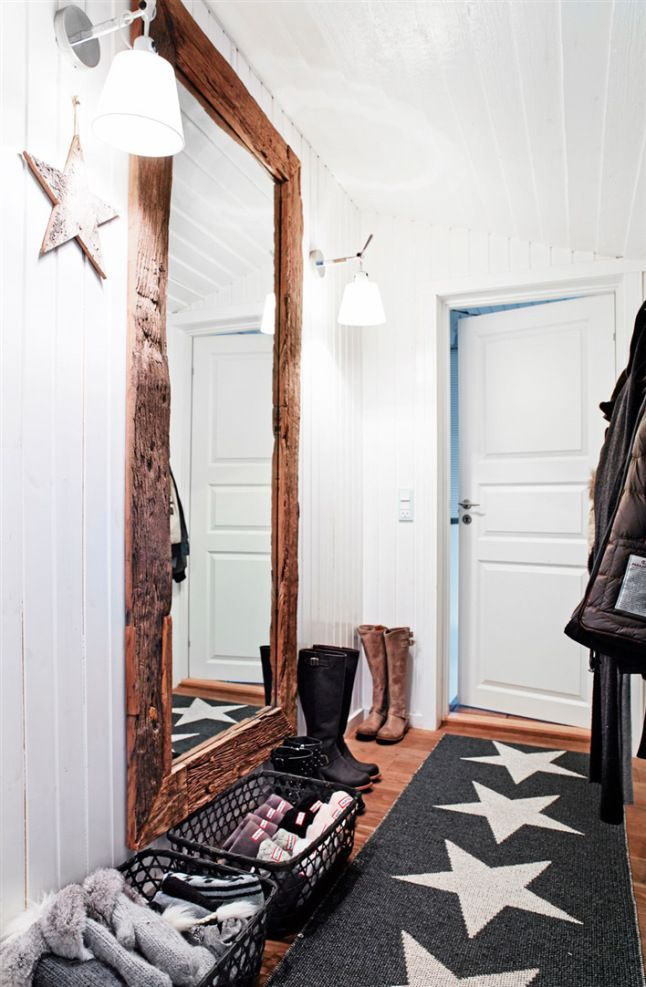 Faire de son entr e un espace chaleureux et accueillant for Retourner une photo miroir