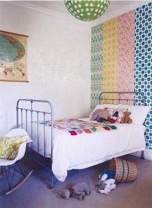 Le papier peint fait peau neuve blog ma maison mon for Tapisserie chambre d enfant