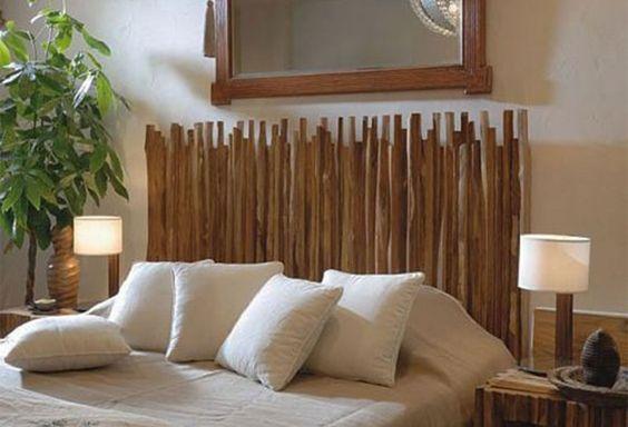Une belle t te de lit pour faire de doux r ves blog ma - Tete de lit tringle ...