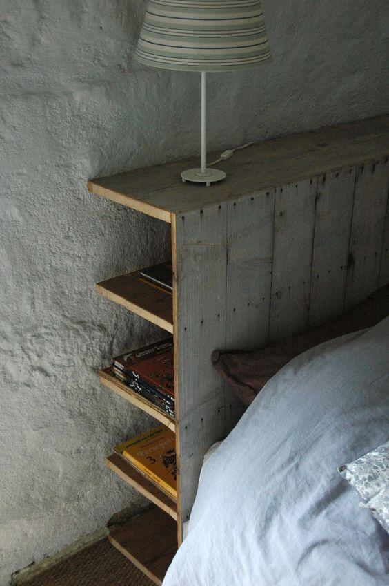 Une belle t te de lit pour faire de doux r ves blog ma for Tete de lit planche