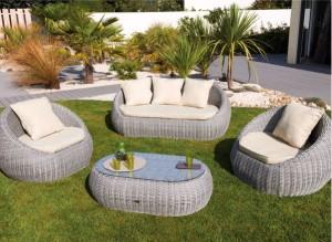 Tendances au jardin : le mobilier en résine tressée – Blog ...
