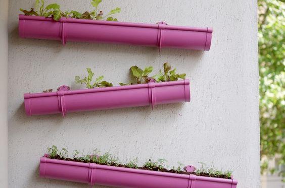 Un potager insolite d cor base d id es r cup blog - Fabriquer ses jardinieres en bois ...