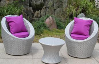 Tendances au jardin : le mobilier en résine tressée