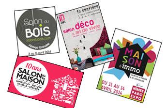 Salons, Foires & Co – Les rendez-vous du mois d'avril 2014