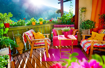 conseils et id es pour am nager son balcon ou sa terrasse blog ma maison mon jardin. Black Bedroom Furniture Sets. Home Design Ideas