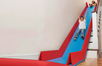 Slide Rider, le toboggan d'escalier qui ravira les enfants !