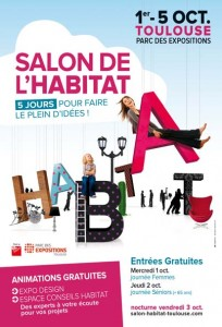 Salons foires co les rendez vous du mois d octobre for Salon habitat toulouse