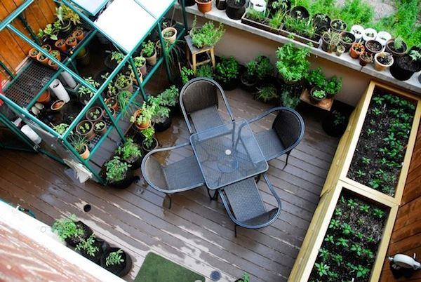 Le jardin en mode urbain blog ma maison mon jardin for Jardin potager de balcon