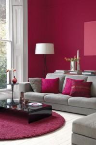Les tendances d coration pour 2015 blog ma maison mon - Salon couleur bordeaux ...