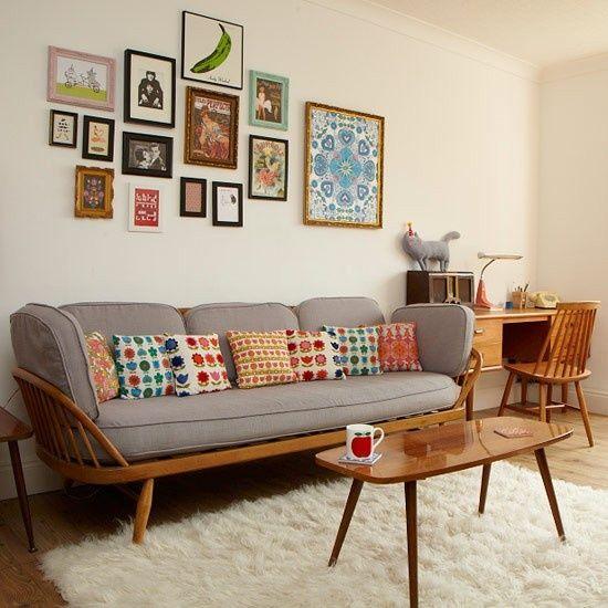 comment cr er une ambiance vintage au salon blog ma maison mon jardin. Black Bedroom Furniture Sets. Home Design Ideas