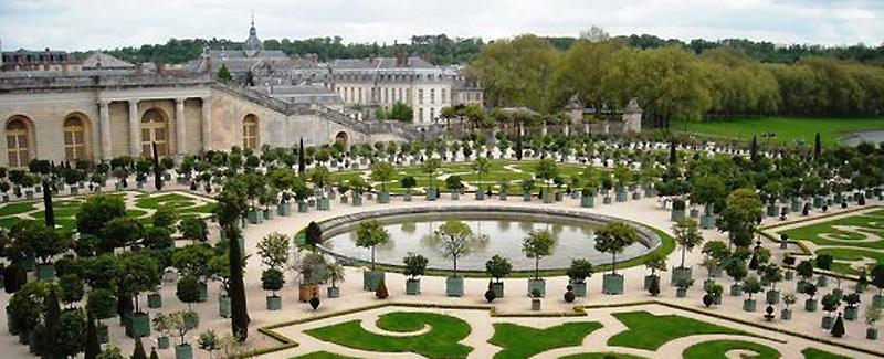 jardin de versailles vers Paris