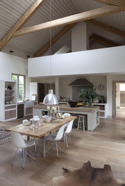 La Cuisine Ouverte Une Bonne Idée Blog Ma Maison Mon Jardin - Grande cuisine avec ilot central