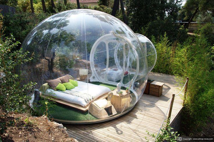 Hôtel Attrap' Rêves pour dormir dans une bulle