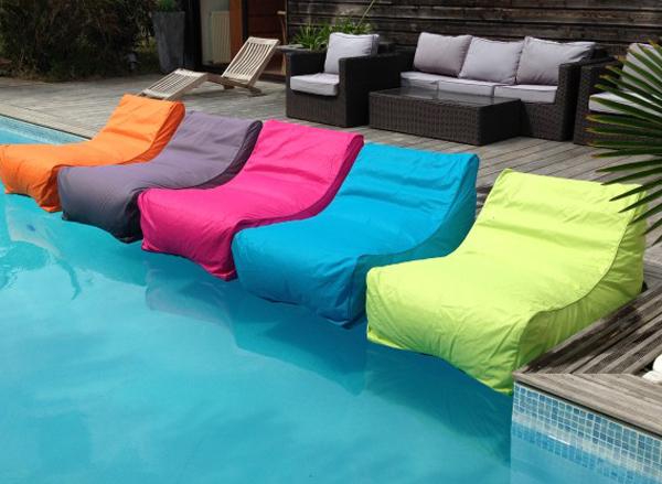 Pouf exterieur piscine table de lit for Pouf exterieur piscine