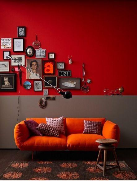 Quelle couleur pour quelle ambiance blog ma maison for Couleur taupe et rouge