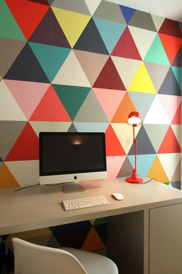 un mur de toutes les couleurs