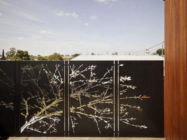 Nos 7 solutions esth tiques pour un jardin cloisonn - Panneau occultant exterieur ...