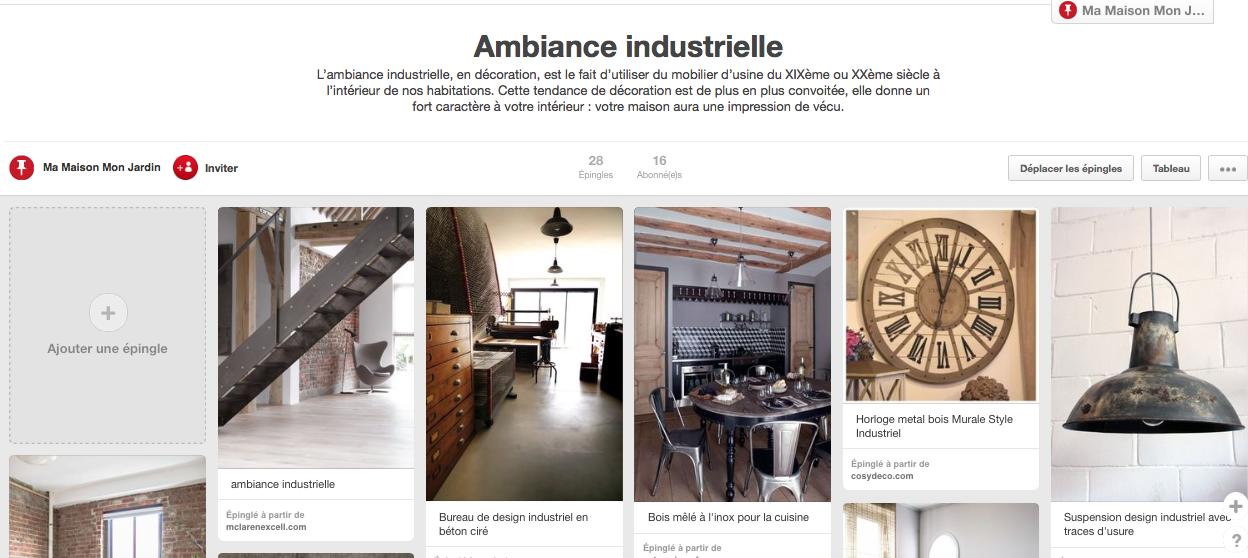 Design industriel la d co avec des l ments d usine blog ma maison m - Tableau deco industrielle ...