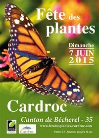 Flyer fête des plantes Cardroc