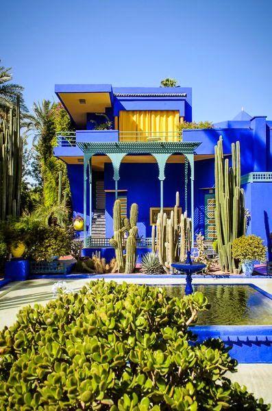 Le jardin Majorette de Marrakech, une merveille