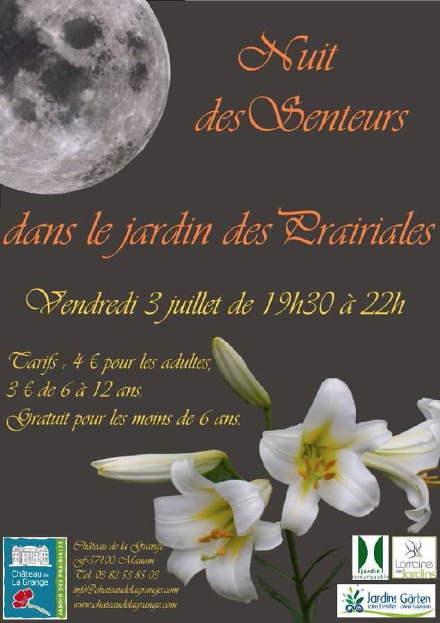 Affiche de la Nuit des Senteurs