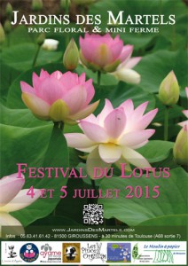 Affiche du festival du lotus