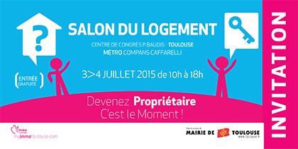 Salons et foires nos rendez vous de juillet 2015 blog for Salon du logement neuf toulouse