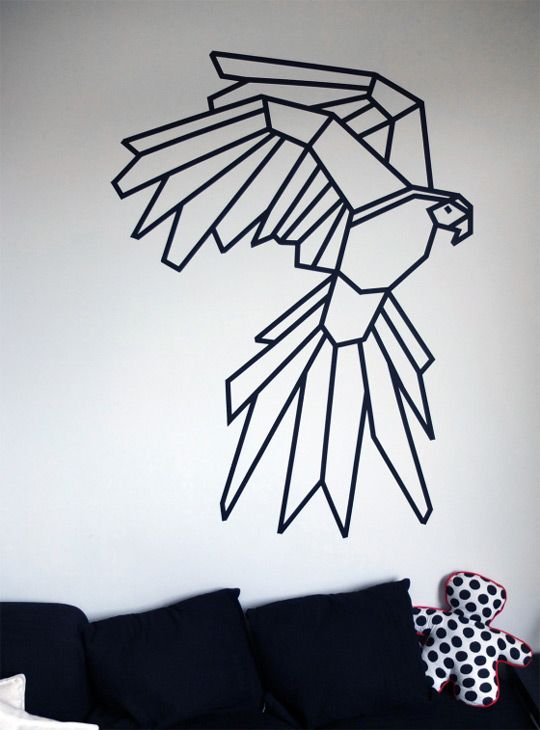Masking tape ou comment scotcher vos amis blog ma for Decoration murale isolante