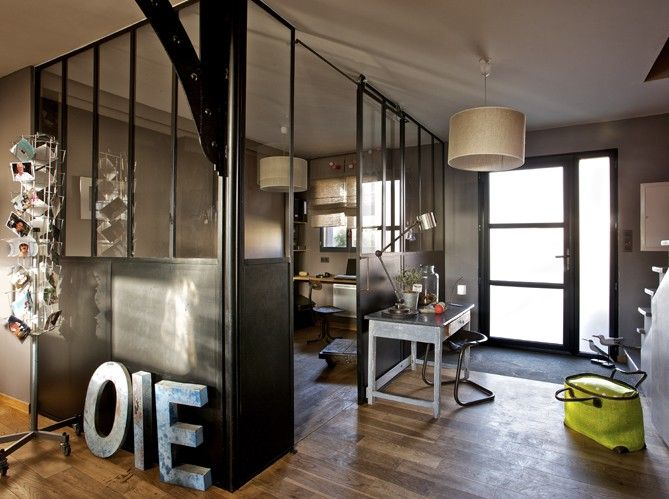 Design industriel la d co avec des l ments d usine - Decoration loft industriel ...