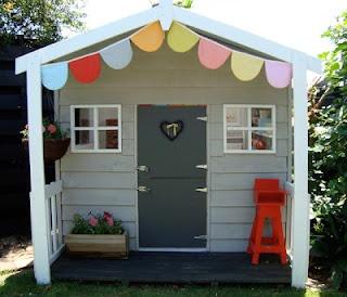 Cabane pour enfants propre et moderne