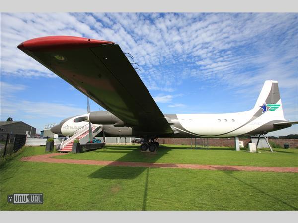 Un avion transformé en Suite de luxe aux Pays-Bas