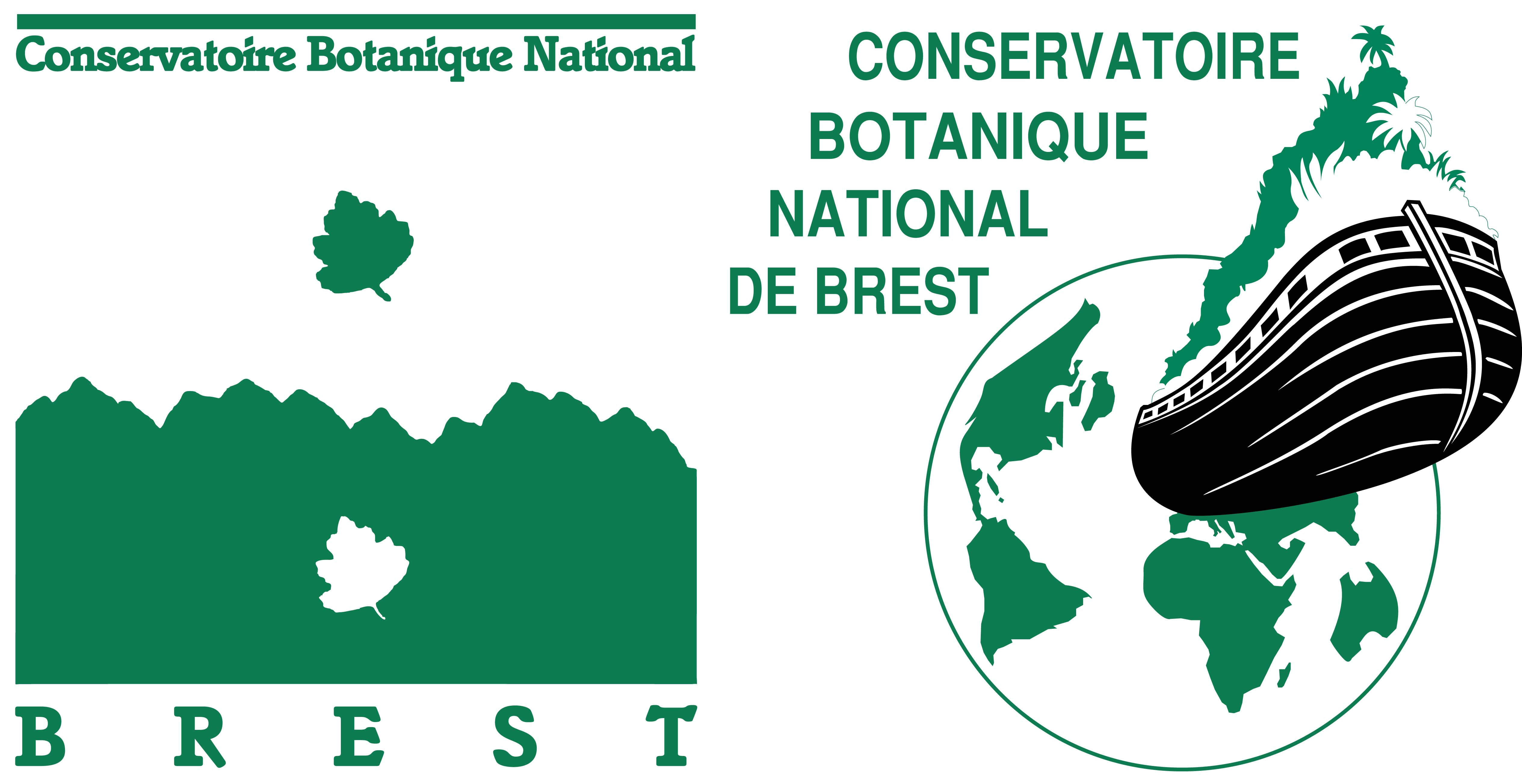 Logo conservatoire botanique de Brest
