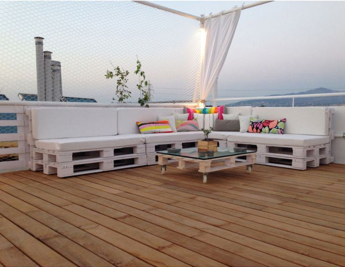 Comment am nager son toit terrasse blog ma maison mon for Salon de terrasse en palette