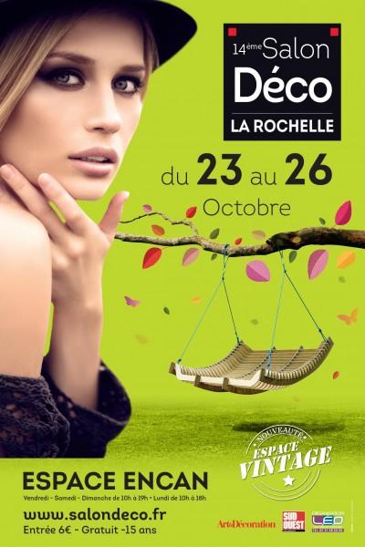 Affiche du salon Déco de La Rochelle