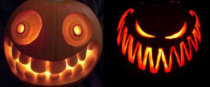 Citrouilles Jack-o-lantern Halloween