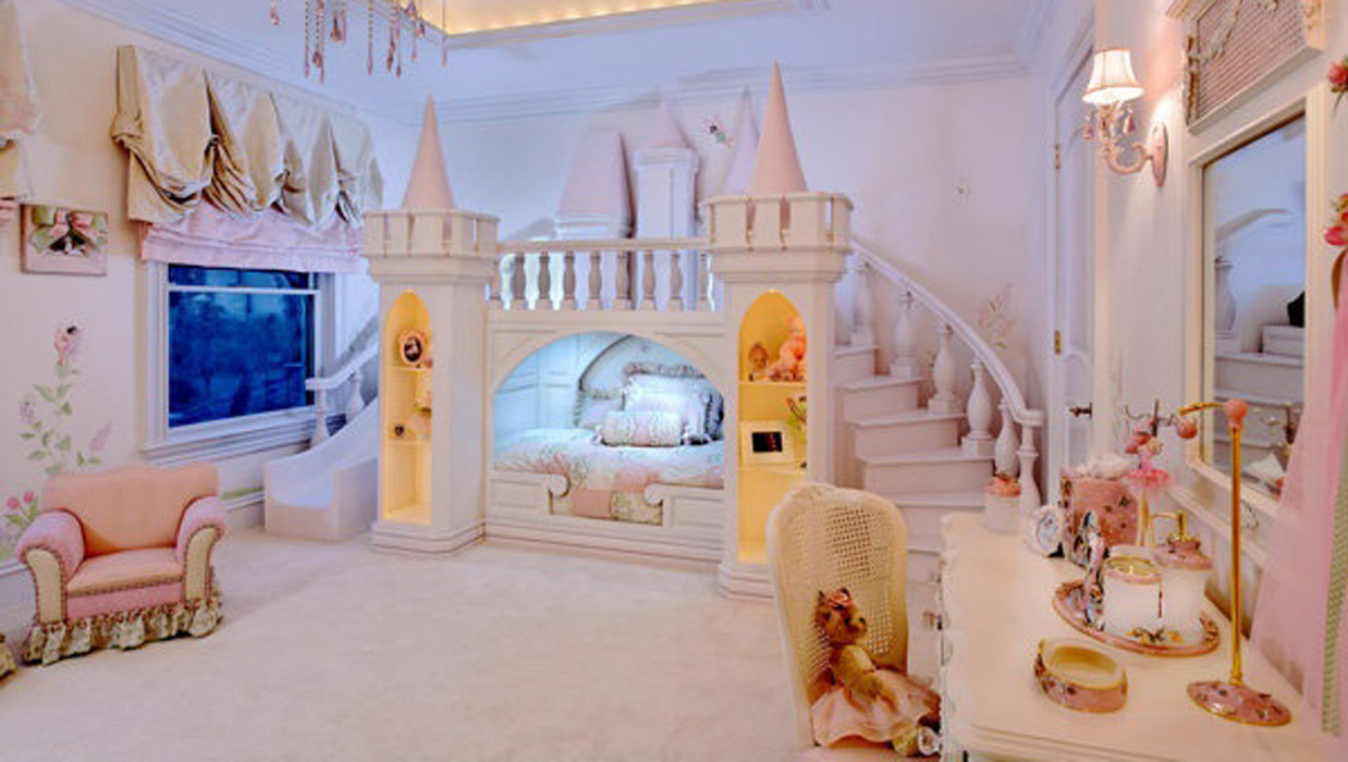 espace de princesse petite fille - Chambre Fille Princesse