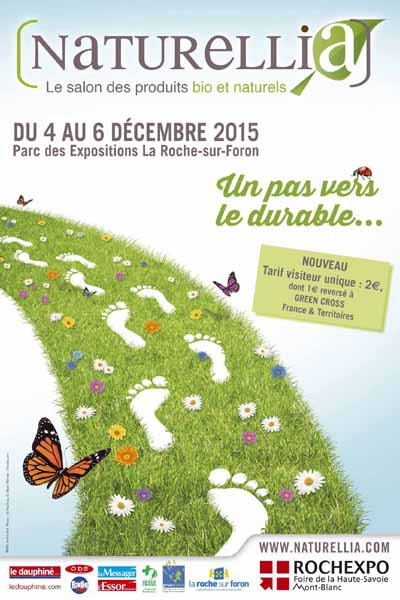 Naturellia salon bio affiche Rochexpo