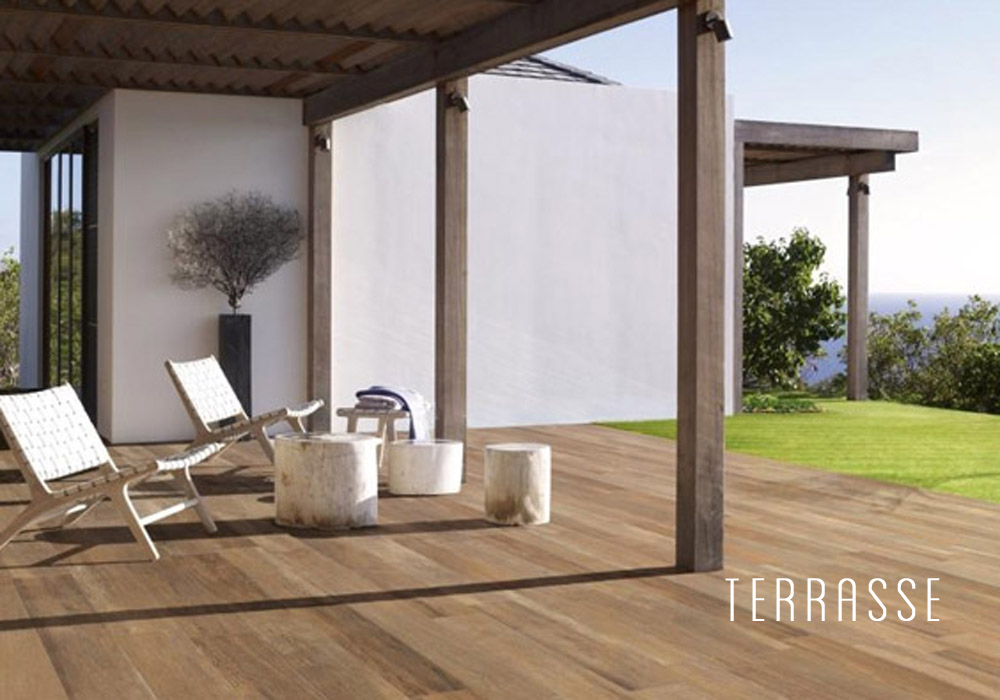 terrasse carrelage imitation bois el14 jornalagora. Black Bedroom Furniture Sets. Home Design Ideas