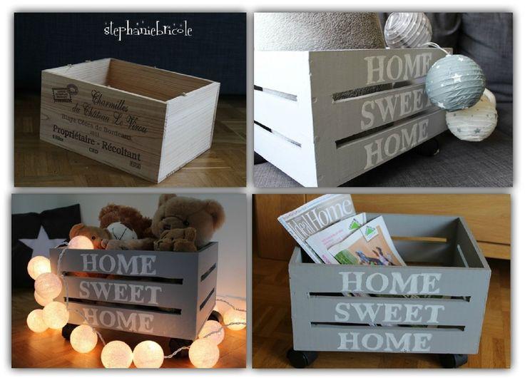 diy comment construire une caisse de rangement roulettes blog ma maison mon jardin. Black Bedroom Furniture Sets. Home Design Ideas