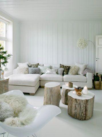 déco scandinave murs blancs nature ambiance zen