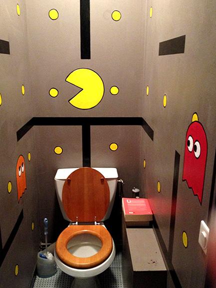 déco rigolote wc