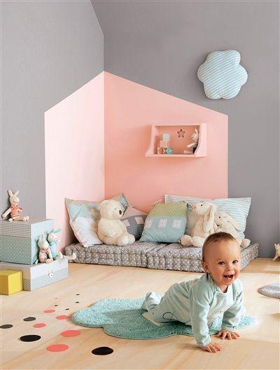 13 id es d co pour customiser la chambre de b b blog for Peinture pour lit bebe