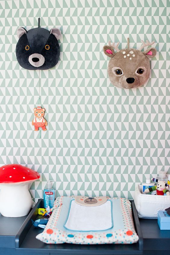 13 id es d co pour customiser la chambre de b b blog for Deco ourson chambre bebe