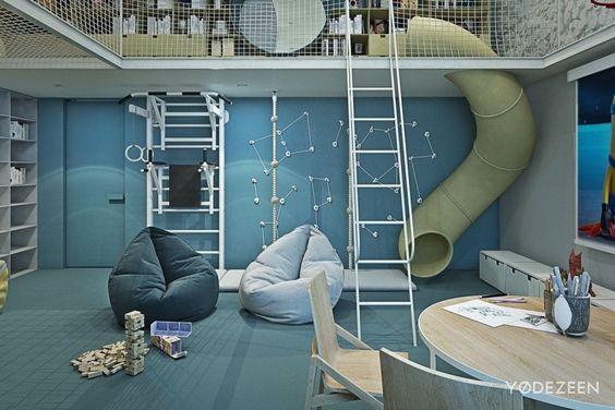 Un toboggan d'intérieur pour des glissades d'exception ! – Blog ...