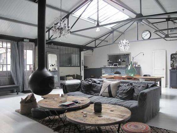 Conseils et astuces pour am nager un loft blog ma maison mon jardin q - Comment meubler un loft ...