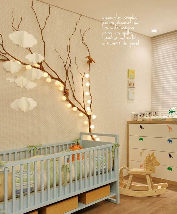 13 id es d co pour customiser la chambre de b b blog for Dekoration babyzimmer
