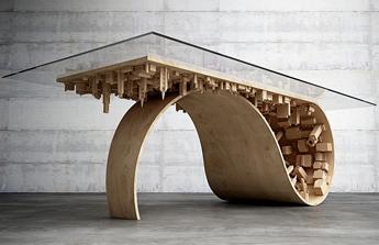 La table buildings de Stelios Mousarris… inspirée du film inception