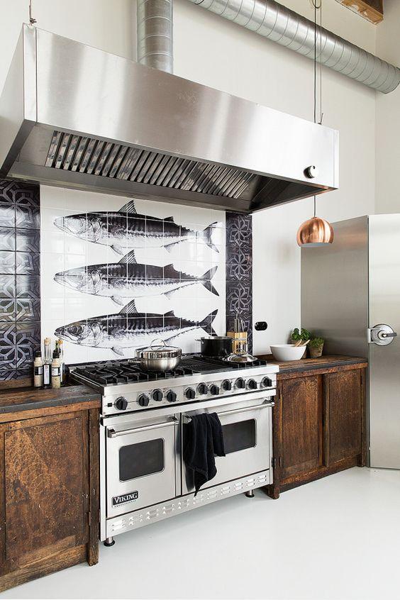 dans la cuisine la cr dence fait la diff rence blog ma maison mon jardin. Black Bedroom Furniture Sets. Home Design Ideas