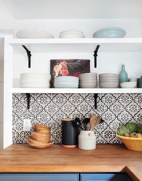 dans la cuisine la cr dence fait la diff rence blog. Black Bedroom Furniture Sets. Home Design Ideas
