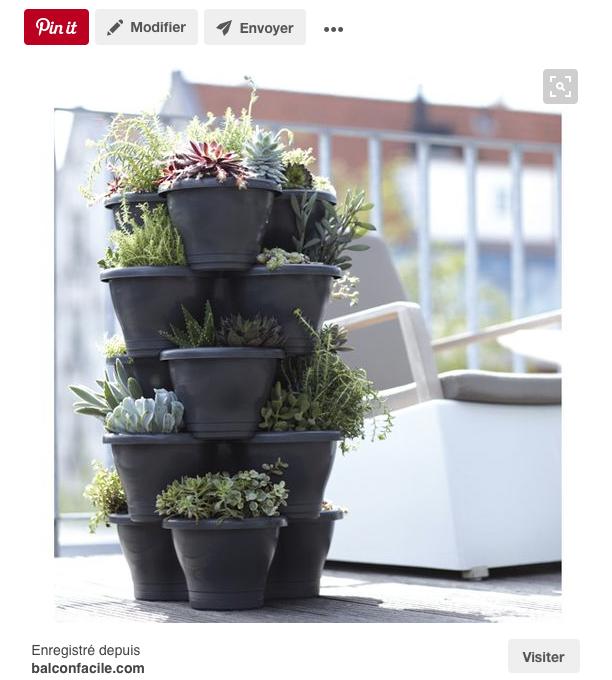Un pot muti usages pour plantes aromatiques